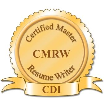 Certified Master Resume Writer - CMRW_2011 (Compressed)
