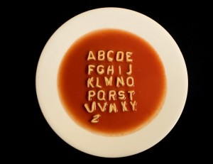 Alphabet Soup Belongs in a Bowl